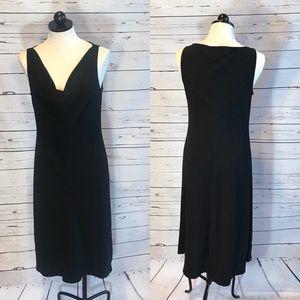 Lafayette 148 Scoop Neck Sleeveless Dress
